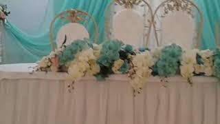 Оформление тиффани на свадьбу