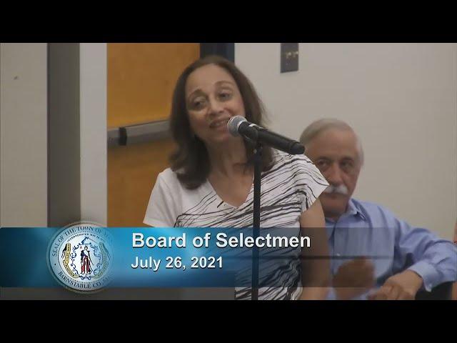 Board of Selectmen 7-26-21