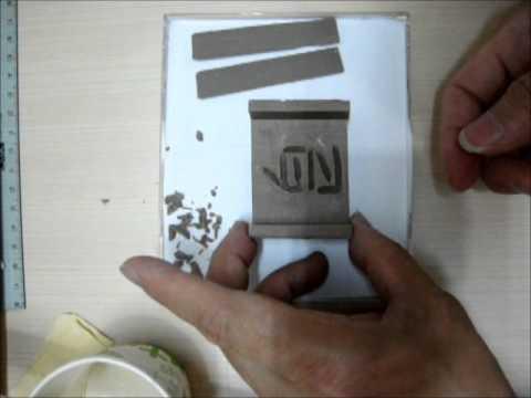 soap stamp DIY