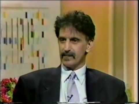 Frank Zappa 1989 TV Interview-The Real Frank Zappa Book