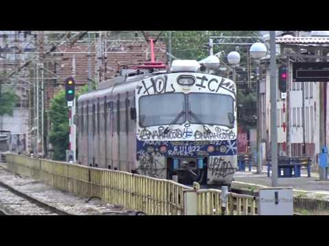 Passenger Trains in Zagreb, Croatia 2019 - Hrvatske željeznice