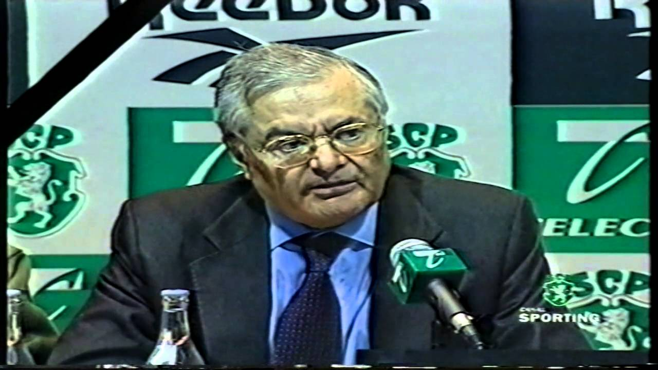 Sporting declara LUTO pelo futebol nacional em 25/01/1999