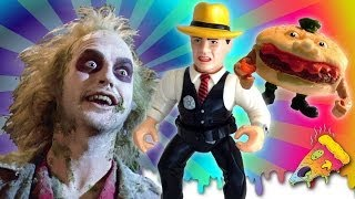Beetlejuice, Dick Tracy and FOOD FIGHT! -ers - Toy Pizza Fan Favorite Toys (Ep. 6)