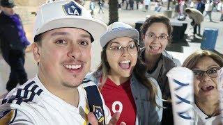 Taking The Family to a Galaxy Game   LA Galaxy vs Minnesota United