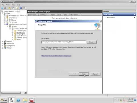 Deploy Windows 7 using WDS, MDT and AIK
