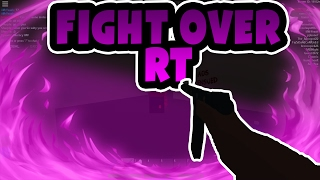 FIGHT OVER RT! | Roblox Apocalypse Rising Ep.1