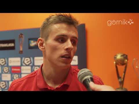 Damian Kądzior o meczu z Zagłębiem (06-05-2018)