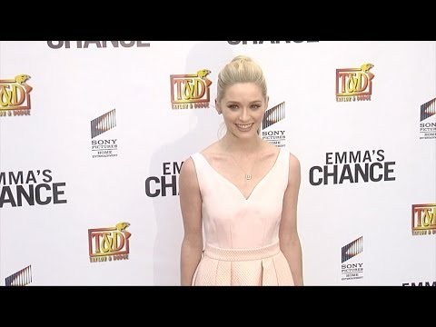 "Greer Grammer ""Emma's Chance"" Screening Red Carpet"