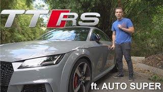 Porrada de 400 cv do Audi TT RS (ft. AUTO SUPER)
