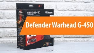 Rescue Defender Warhead G-450 / Unboxing Defender Warhead G-450