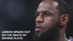 LeBron James calls attention to George Floyd's death with Colin Kaepernick picture