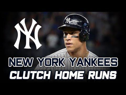 2019 Yankees | Clutch Home Runs