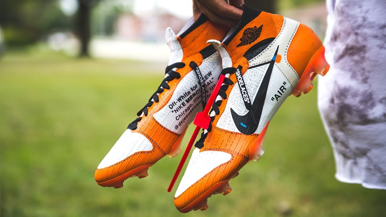 Custom Off White Superfly Soccer Cleat Tutorial Youtube