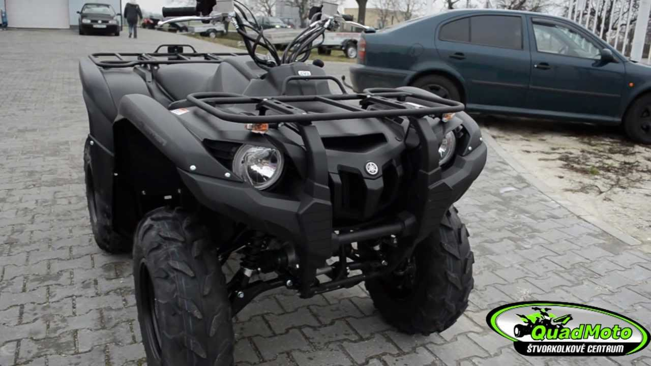 Black Yamaha Grizzly