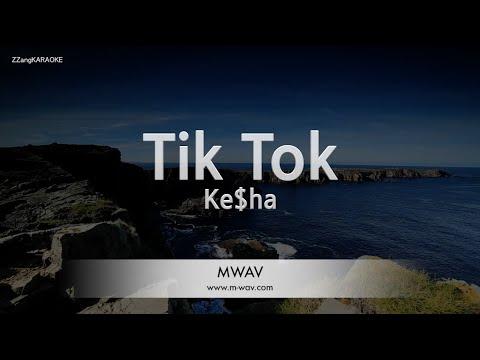 Download Ke$ha-Tik Tok (Melody) [ZZang KARAOKE]