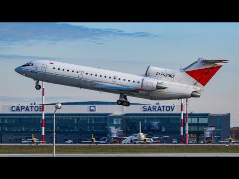 Як-42 а/к ЗАО ЮТэйр | Вахтовый рейс Саратов - Сургут