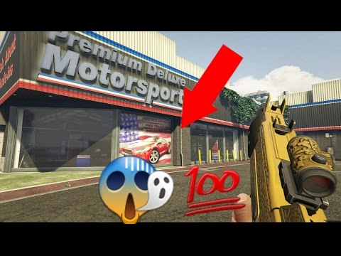 Gta 5 How to get inside Simeons Dealership 1.35 (Founder)
