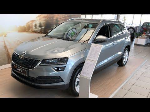 All NEW 2018 Škoda Karoq SUV walk around and comparison with Kodiaq in 4K