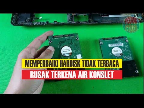 #1 Memperbaiki Hardisk Rusak Tidak Terbaca Konslet Terkena Air & Memulihkan Datanya di Pojok Cyber
