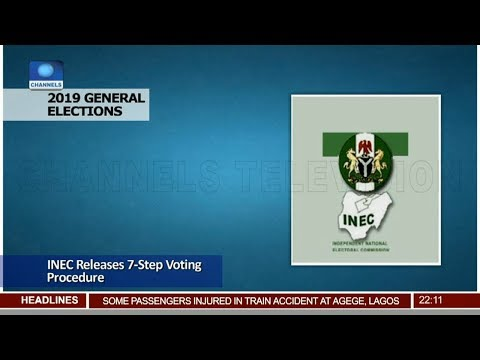 INEC Releases 7-Step Voting Procedure Pt.1 10/01/19 |News@10|