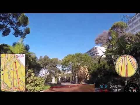 Gibraltar Botanic Gardens Urban Sprint Orienteering Course A