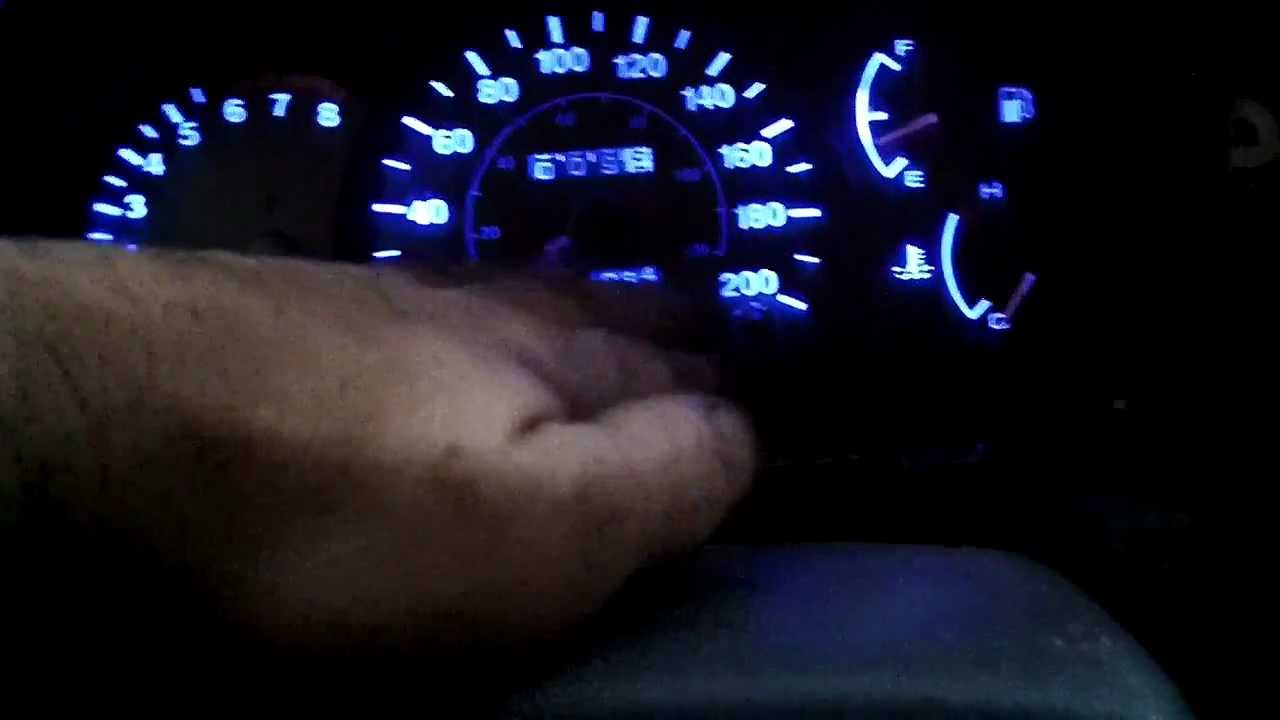 Led Gauge Lighting 2000 2005 Hyundai Accent Youtube