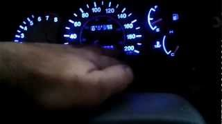 LED gauge lighting 2000 2005 Hyundai Accent