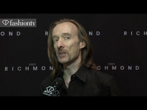 John Richmond Interview - Backstage @ Milan Men's Fashion Week Spring 2012 | FashionTV - FTV.com