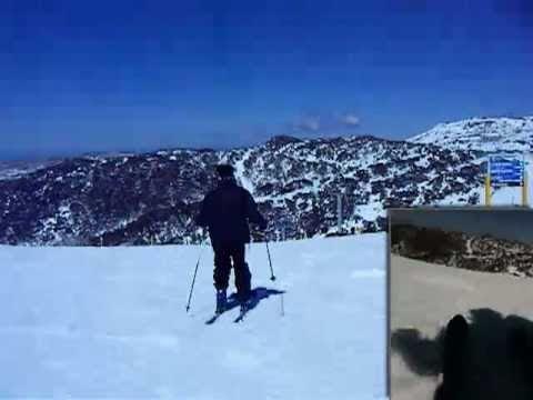 Tony Skiing Zali's