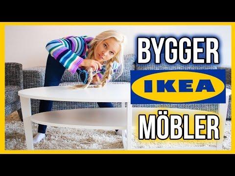 VLOGG // Försöker bygga IKEA möbel själv l Flyttvlogg 2