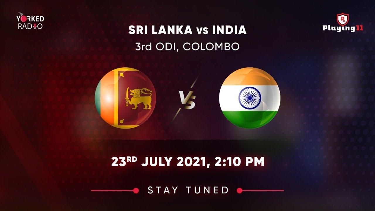 India vs Sri Lanka 3rd ODI Live Cricket Score Updates: Sakariya ...