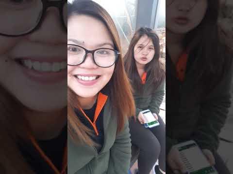 Going to Feng chia night market (tagal ng bus)