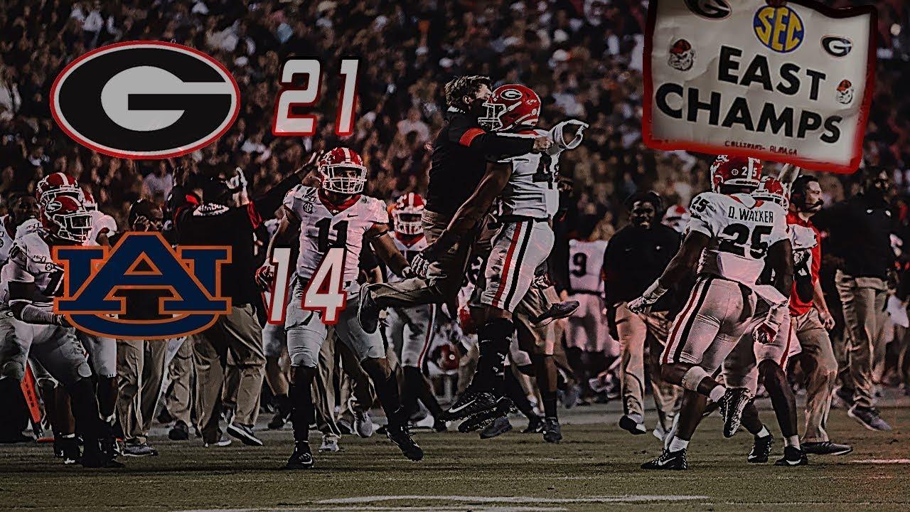#4 Georgia Highlights Vs. #12 Auburn 2019 | CFB Week 12 | College Football Highlights 2019