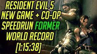 Resident Evil 5 NG+ Co-Op Speedrun World Record [1:15:38]