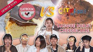 Eatbook VS Basque Burnt Cheesecake   Eatbook Cooks   EP 12
