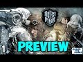 FROSTPUNK Gameplay #1 - PREVIEW BUILD! - Steampunk Ice Survival [4k]