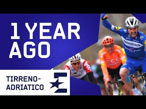 Julian Alaphilippe's Sprint At Tirreno-Adriatico   1 Year Ago   Cycling   Eurosport
