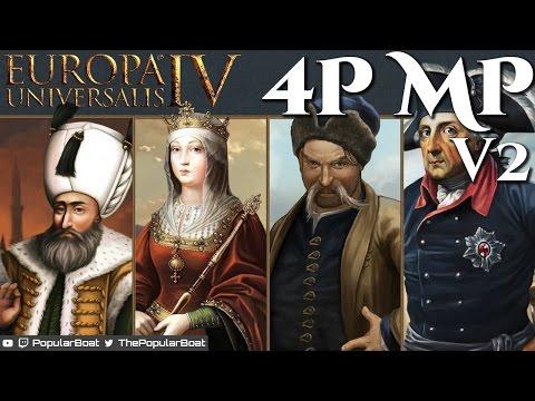 EU4 [1.19 | Multiplayer 4 player ~COOP V2] Session 01