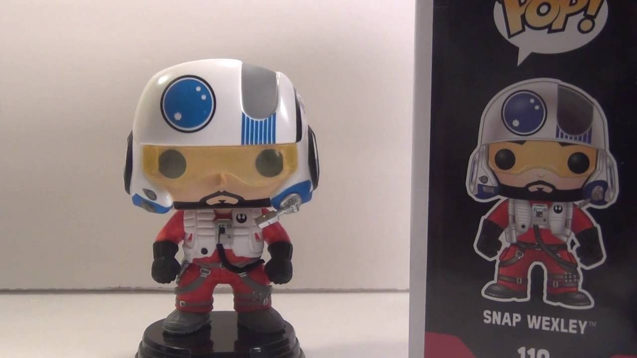 Funko Pop Star Wars Snap Wexley 2016, Toy NUOVO Ep7