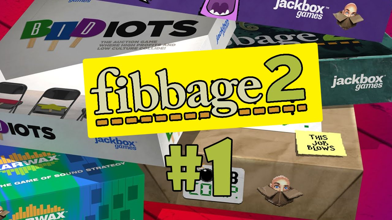The Jackbox Party Pack 2   Fibbage 2 #1 - YouTube