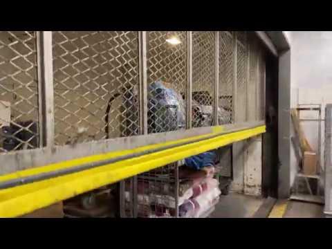 NEW MOTORS: OTIS Freight Elevator At Macy's At Walt Whitman Shops In Huntington Station, NY