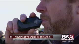 Trump set to respond to vaping illness, deaths