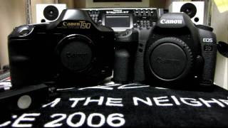 Canon T90 & Canon EOS 5D mark Ⅱ Shutter Sound