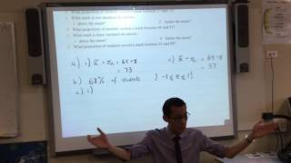 The Normal Distribution (3 of 3: Basic questions)
