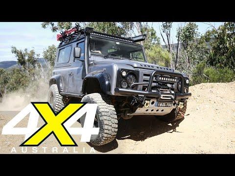 Modified Land Rover Defender 90   Custom 4x4   4X4 Australia