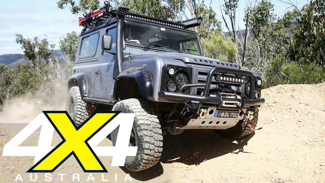 modified land rover defender 90 custom 4x4 4x4 australia youtube. Black Bedroom Furniture Sets. Home Design Ideas