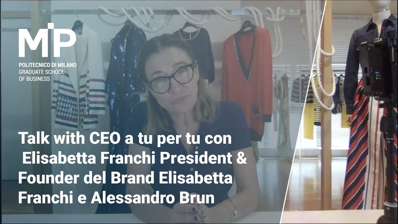 Talk with CEO Gestire la ripartenza a tu per tu con Elisabetta Franchi e Alessandro Brun
