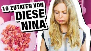 10 Zutaten Challenge | mit Diese Nina ❤️