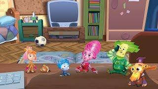 Детский уголок/Kids'Corner Фиксики - Сила трения  Мультик игра для детей Фикси книжки