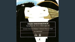 Symphony No. 4 in C Minor Op. 43: I. Allegretto poco moderato